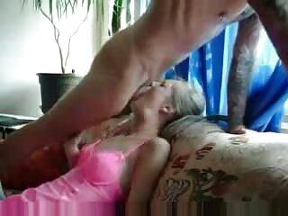 Rubia gorda folla con un chico subtitulado en español porno